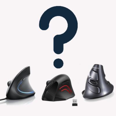 comment choisir souris verticale ergonomique